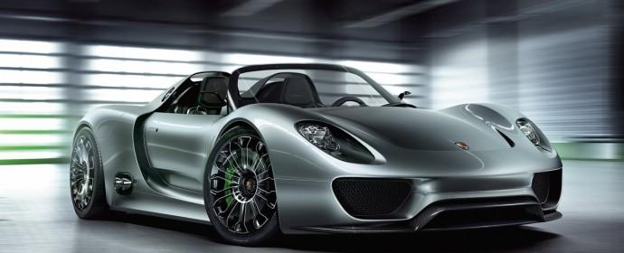 Porsche омая Женева с 918 Spyder